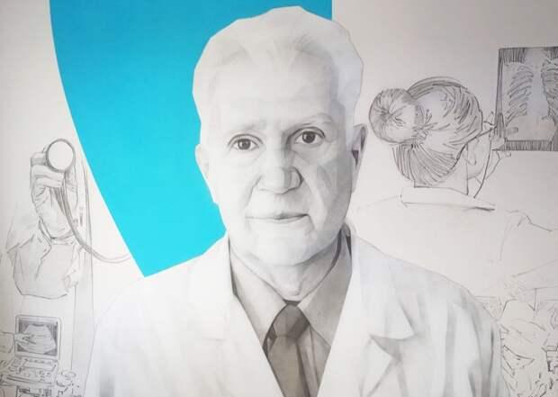 В рязанской больнице увековечили память профессора Владимира Гармаша