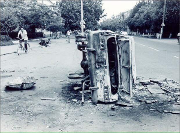 «Черная среда» 2 мая 1990 года - погромы евреев и армян в Андижане.