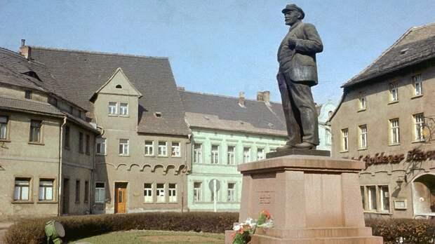 Как памятник Ленину оказался в фашистской Германии