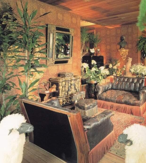 Эклектичный интерьер загородного дома Ротшильдов - одной из богатейших семей мира