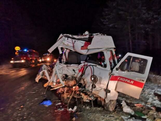 Фельдшер и пациент погибли в ДТП с «Газелью» в Удмуртии