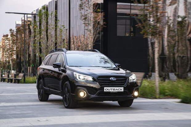 Новая версия Subaru Outback Black Line: уже скоро в России