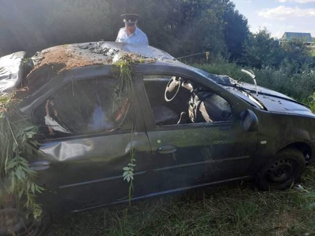 Тело мужчины нашли в затонувшем автомобиле в Уве