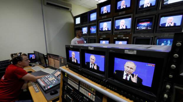 Корреспондент: Украина собирается блокировать российские телеканалы