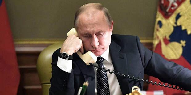 Кремль раскрыл детали разговора Путина и Байдена