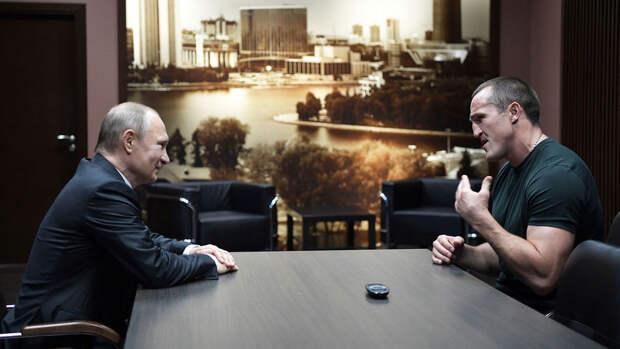 Федерация Бокса организовала флешмоб в поддержку Путина перед встречей с Байденом