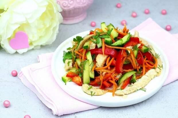 ЛЕГКИЙ весенний салатик