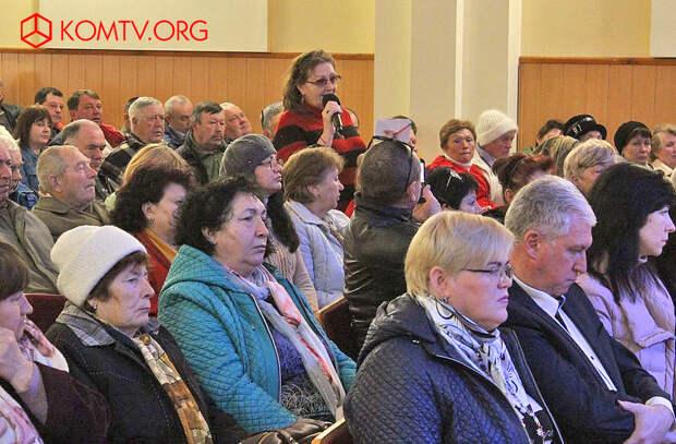 Выступление сотрудника Дома-музея Максимилиана Волошина Светланы Клепс