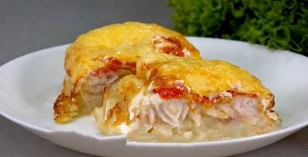 Готовлю вместо мяса на новый Год! Рыба по-французски: вы тоже влюбитесь в это блюдо.