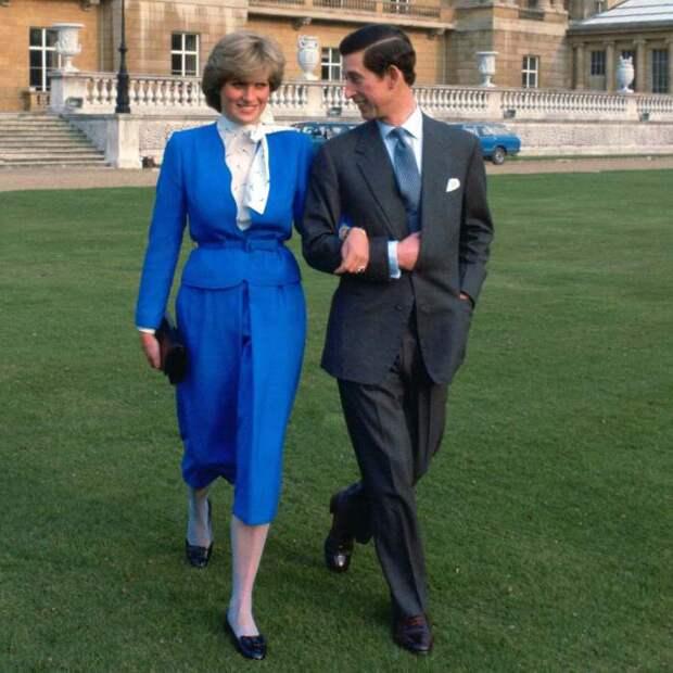Принцесса Диана и принц Чарльз. \ Фото: popsugar.com.au.