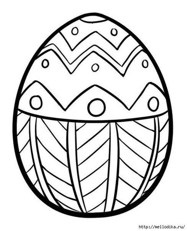 Пасхальные трафареты для росписи пасхальных яиц