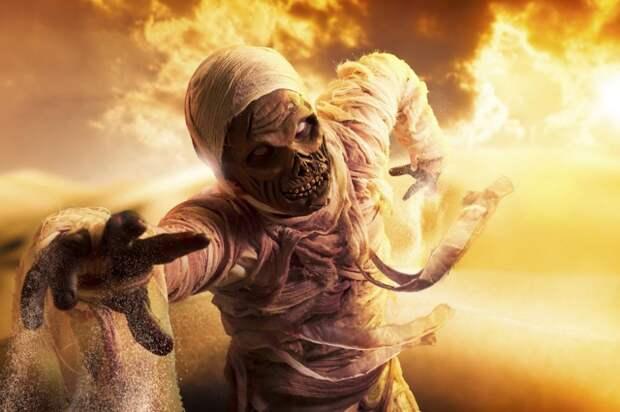 Смертельное прикосновение мумии