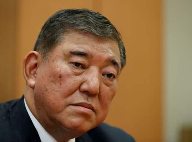 Бывший министр обороны и член Либерально-демократической партии Японии Сигэру Исиба в Токио, Япония, 31 августа 2020 года. REUTERS/Kim Kyung-Hoon