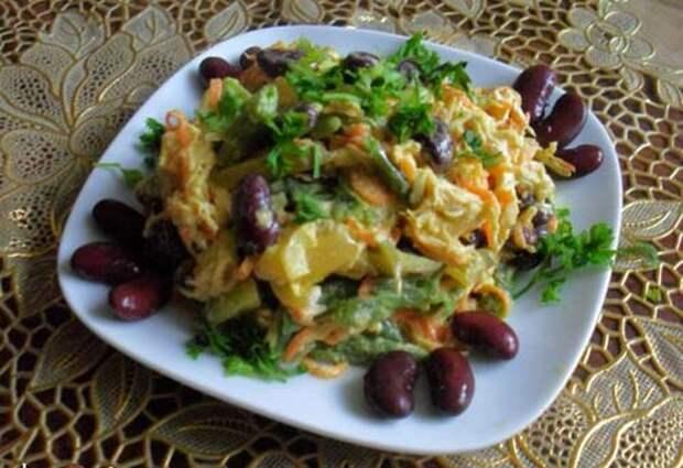 salat-obzhorka-s-fasolyu