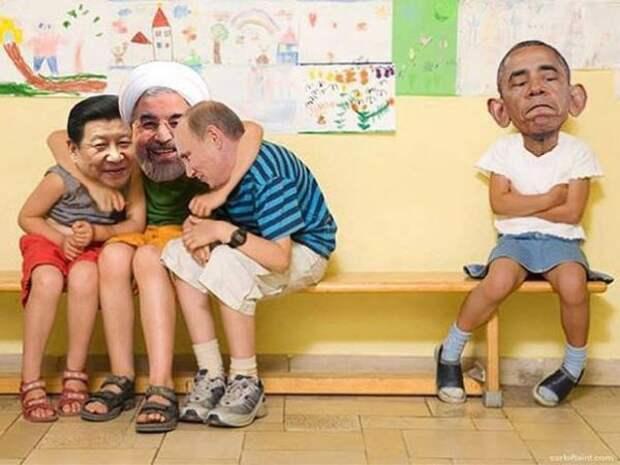 Стеб от дядюшки Си Дзинь Пиня. Цель- Обама.