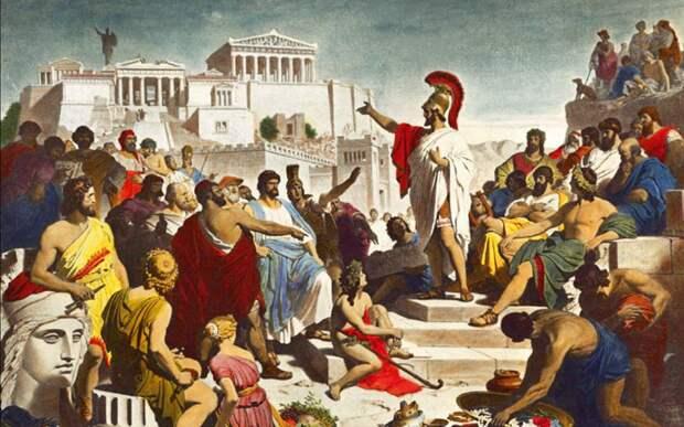 Пять забавных мифов про древний мир