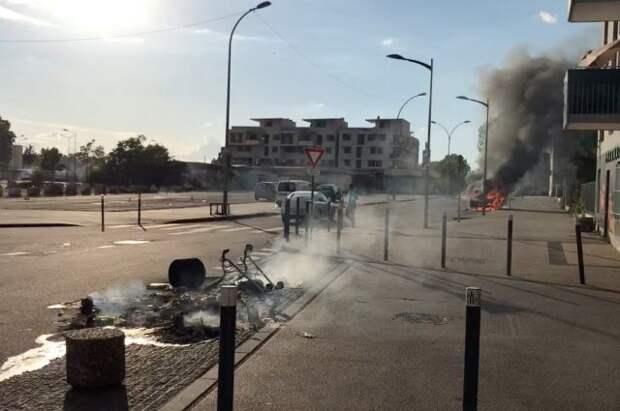В Дижоне после беспорядков проходят обыски