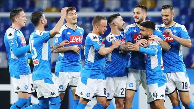 «Наполи» забил 6 безответных мячей в ворота «Фиорентины»