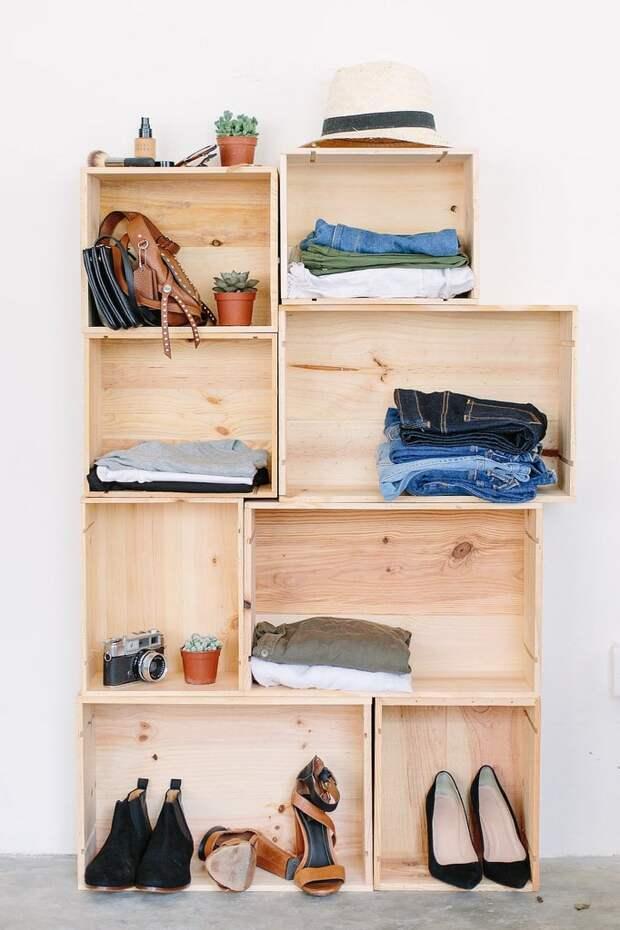 Классные идеи систем для хранения вещей