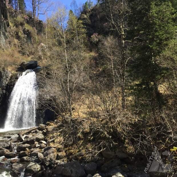 Почему водопад Корбу- самый популярный водопад на Телецком озере