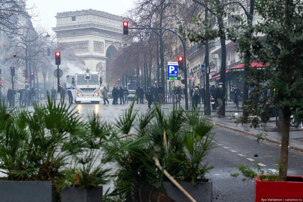 Вы что, хотите, чтобы было как в Париже?