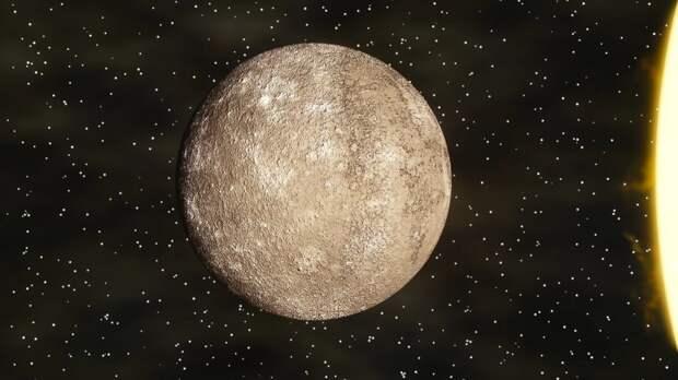 Черный квадрат обнаружен зондом НАСА на Меркурии