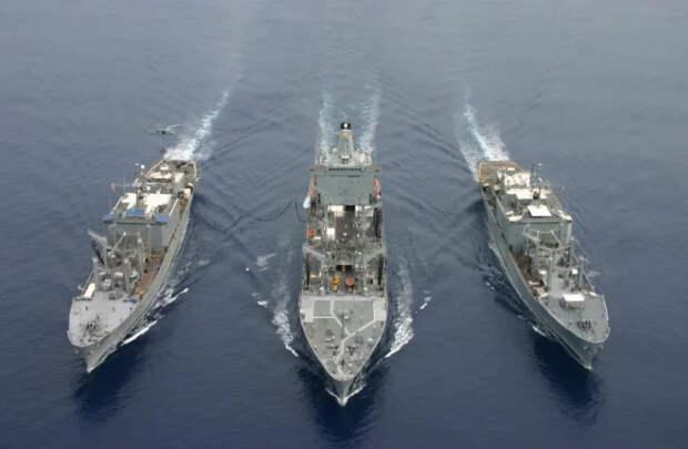 """""""Клин клином вышибают"""" - Россия провела в Мексиканском заливе военно-морские учения. Реакция США."""