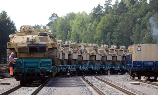 США обостряют обстановку на белорусской границе