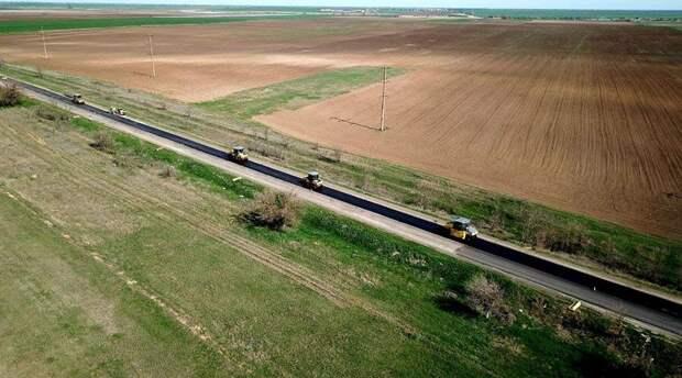 «ВАД» отремонтирует степную дорогу в центре Крыма