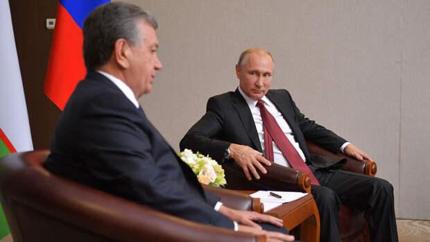Президенты России и Узбекистана провели телефонные переговоры