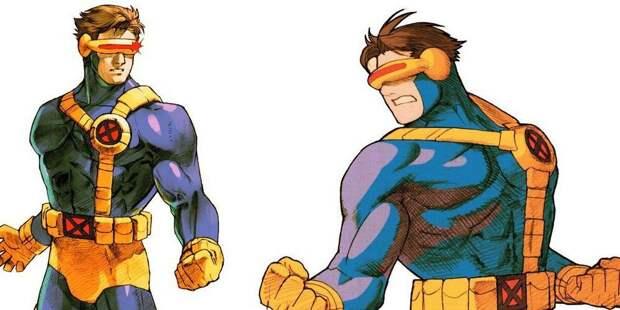 Циклоп - Marvel Vs. Capcom 2