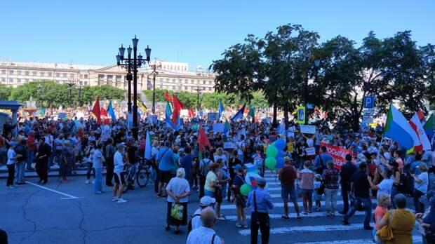 Жесточайшее решение по протестам в Хабаровске – это шок