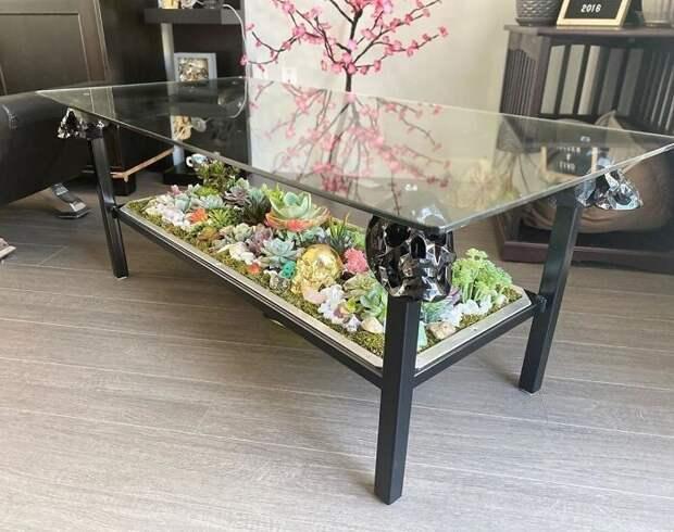 25 столов с«садами» изсуккулентов отпрофессионалов Blooming Tables
