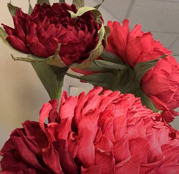 Ростовой цветок из бумаги своими руками. Видео мастер-класс