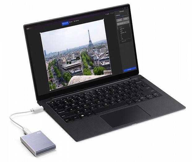 Представлен портативный твердотельный накопитель Seagate One Touch SSD