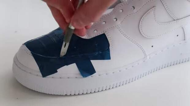 Простой способ — потрясающий результат! Создайте кроссовки с уникальной расцветкой