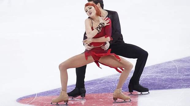 Загорски и Гурейро выиграли этап Кубка России в танцах на льду