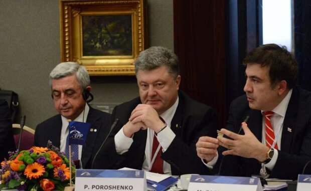 Саакашвили, Порошенко, Пашинян: почему уйти от России без потерь невозможно
