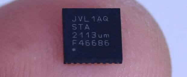 Создан чип потоковой передачи данных в 100 раз энергоэффективнее Bluetooth