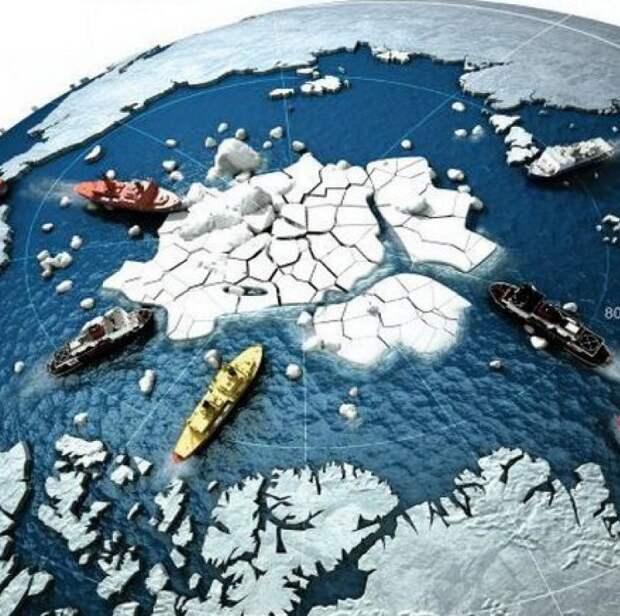 Запад хочет превратить Арктику в горячую точку