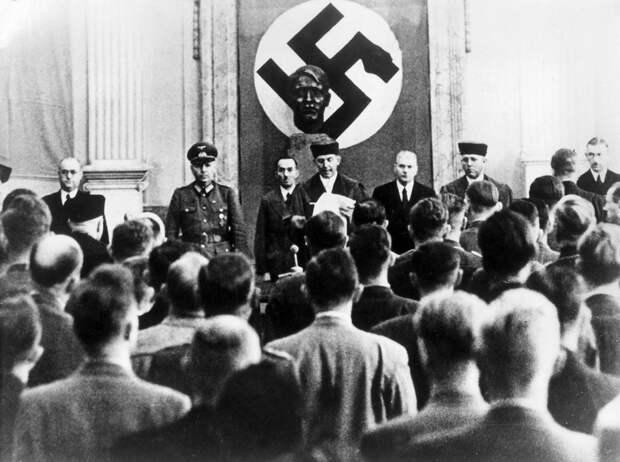 Как большевик стал высокопоставленным нацистом