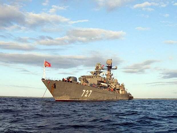 Российские военные корабли зашли в порты Кипра и вызвали гнев США