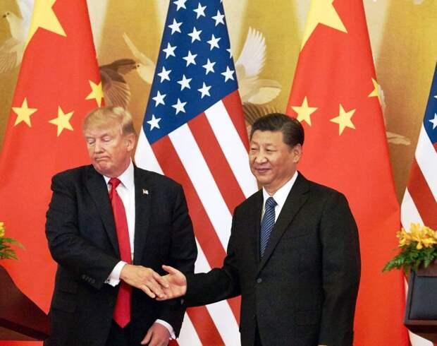 США поджали хвост и уступили в войне с Китаем