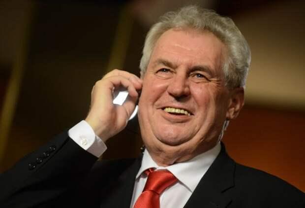 Земан: Включение Чехии всписок недружественных стран— глупость