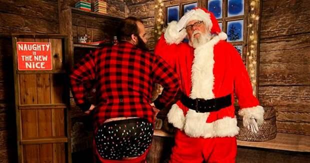Нуочень плохой Санта: вСША рождественские персонажи занялись сексом вторговом центре
