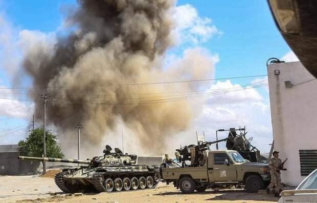 Ливия обвинила Россию в разжигании конфликта в стране