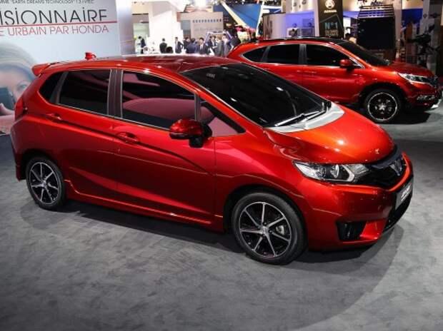 Новые Honda Jazz и кроссовер HR-V: два сапога пара