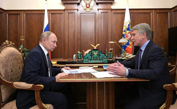 Путин одобрил создание СПГ-заправок отПетербурга доЧелябинска