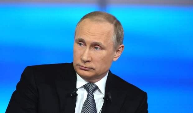 Путин поставил второй компонент вакцины откоронавируса