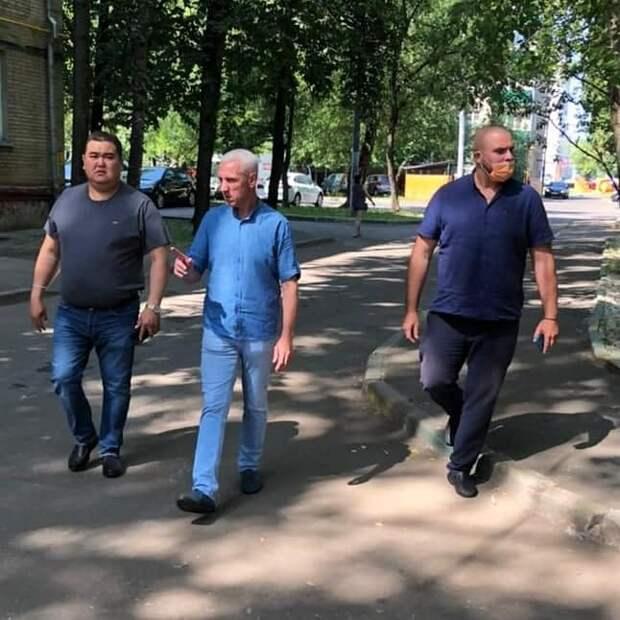 В Коптеве возобновились традиционные обходы главы управы